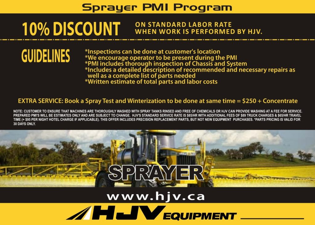 ET Apache maintenance program with hjv equipment