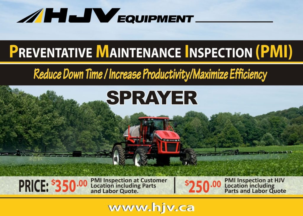 ET Apache maintenance program hjv equipment