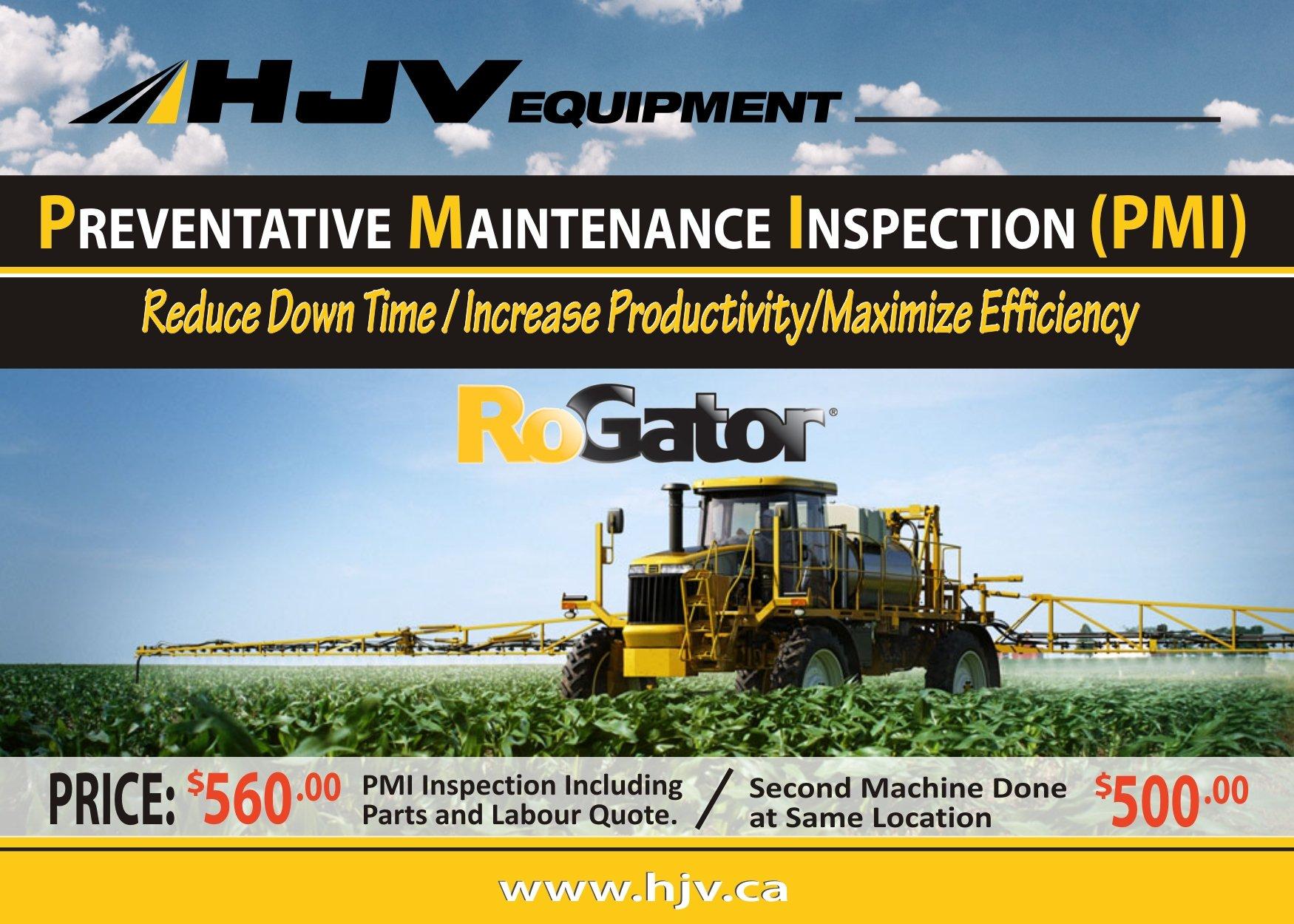 AGCO Rogator PMI - HJV EquipmentHJV Equipment
