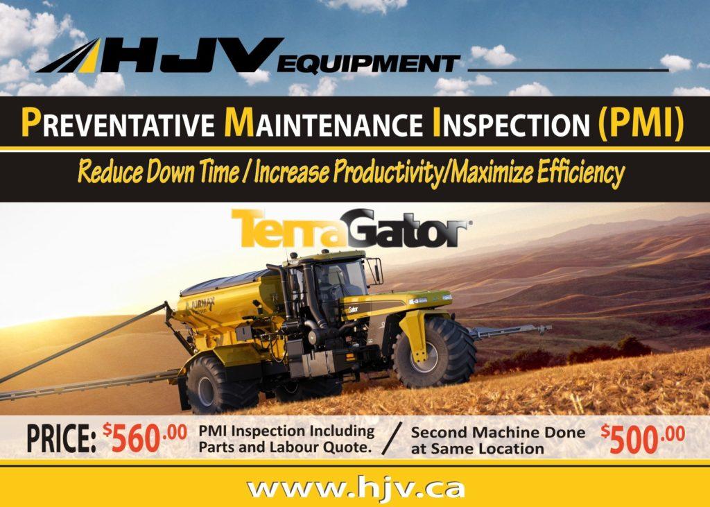 agco terragator preventative maintenance program hjv