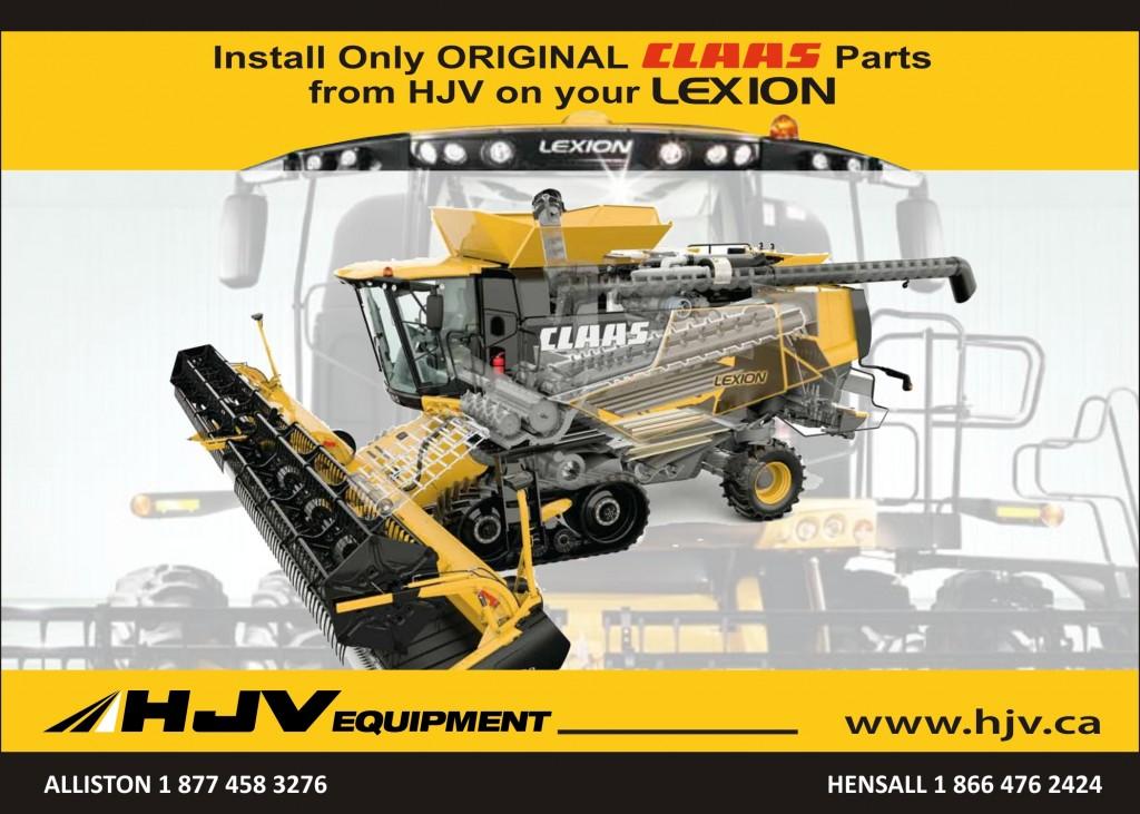 Lexion Parts (Front)